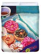 Yum Yum Donuts Duvet Cover