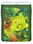 Yupo Flower2 Duvet Cover