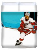Yzerman Stick Duvet Cover