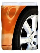 Z Emblem Wheel Duvet Cover