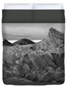 Zabraski Point Death Valley Img 4359 Duvet Cover