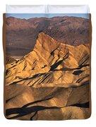 Zabriske Point Sunrise Duvet Cover