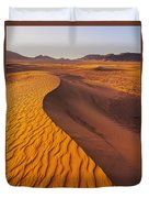 Zagora Desert In Morocco Duvet Cover