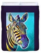 Zebra - Sunrise Duvet Cover