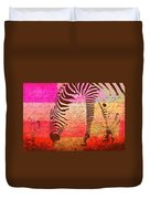 Zebra Art - T1cv2blinb Duvet Cover