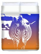 Zebra Crossing V6 Duvet Cover