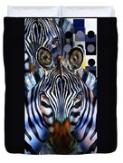 Zebra Dreams Duvet Cover