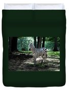 Zebra Forest 2 Duvet Cover