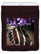 Zebra Heliconian Heliconius Charithonia Duvet Cover