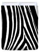 Zebra Hide Duvet Cover