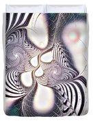 Zebra Phantasm Duvet Cover