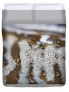 Zebra Stripes In The Tide Pool 1 Duvet Cover