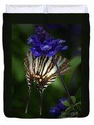 Zebra Swallowtail Duvet Cover