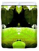 Zen Leaves 2 Duvet Cover