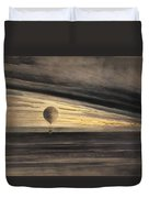 Zenith At Sunrise Duvet Cover by Bill Cannon