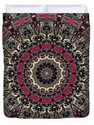 Zentangle No. 7 Kaleidoscope Duvet Cover