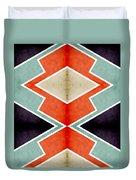 Zig Zag Angles 3 Duvet Cover
