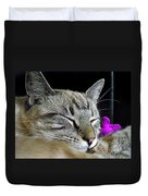 Zing The Cat Sleeping Duvet Cover