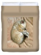 Zing The Kitten Duvet Cover