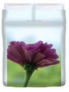 Zinnia Dream Duvet Cover