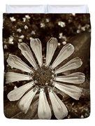 Zinnia Monochrome Duvet Cover