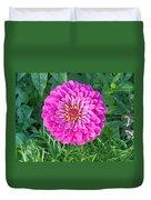 Zinnia - Pink Duvet Cover