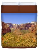 Zion Canyon Duvet Cover