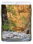 Zion Narrows Duvet Cover