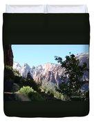 Zion Park Majestic View Duvet Cover