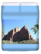 Zion Park Red Rocks Duvet Cover