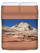 Zion Park - Rock Texture Duvet Cover