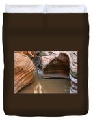 Zion Puddle Duvet Cover