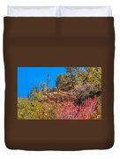 Zion Reds Duvet Cover