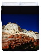 Zions Mount Duvet Cover