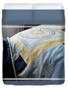 Zodiac Patchwork Quilt Duvet Cover by Barbara Griffin