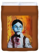 Zombie Alfalfa Duvet Cover