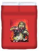 Zombie Chunk Duvet Cover