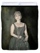 Zsazsa Gabor In The 1950's Duvet Cover