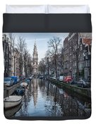 Zuiderkerk Amsterdam Duvet Cover