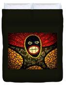 Zulu Man In Lomo Duvet Cover
