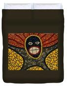 Zulu Man Duvet Cover