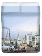 Zurich Duvet Cover by Swiss School