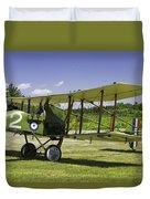 1916 Royal Aircraft F.e.8 World War One Airplane Photo Poster Print Duvet Cover