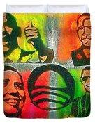 4 Barack  Duvet Cover