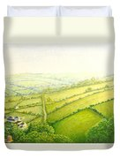 ... And Think Of England. Duvet Cover