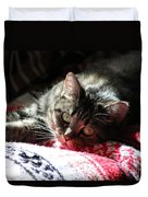Angel Cat Duvet Cover