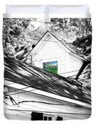 Beauregard Attic Baton Rouge Duvet Cover