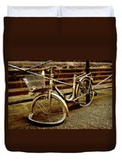 Bicycle Breakdown Duvet Cover