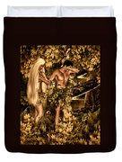 Birth Of Sin Duvet Cover
