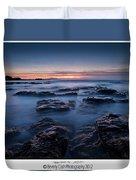 Blue Dusk Duvet Cover